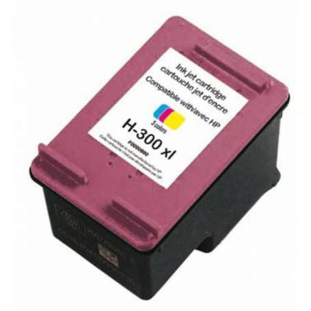 Cartuccia Compatibile HP 300XL Colore (CC644EE)