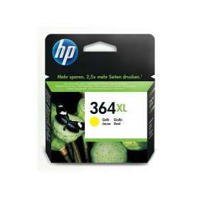 Cartuccia Originale HP 364XL Giallo (CB325EE)
