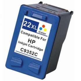 Rigenerazione Cartuccia HP 22XL Colore (C9352CE)