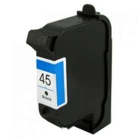 Rigenerazione Cartuccia HP 45 Nero (51645A)