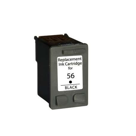 Cartuccia Compatibile Hp 56 Nero (C6656A)