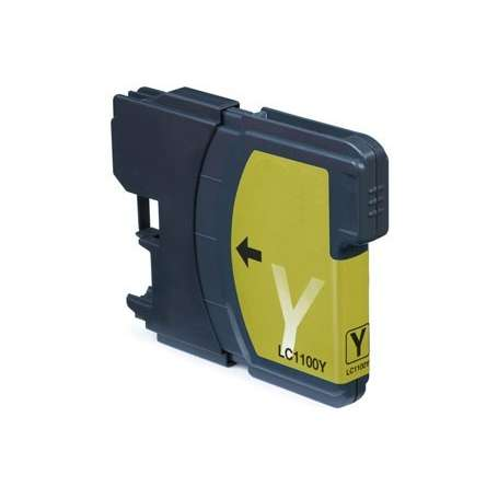 Cartuccia Compatibile Brother LC980 Giallo