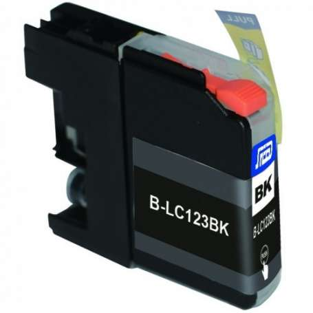 Cartuccia Compatibile Brother LC123 Nera