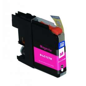 Cartuccia Compatibile Brother LC123 Magenta
