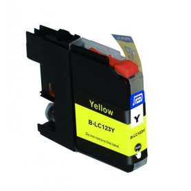 Cartuccia Compatibile Brother LC123 Giallo