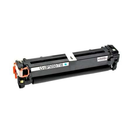 Toner Compatibile Canon LBP 5050, 716 Ciano