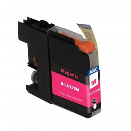 Cartuccia Compatibile Brother LC125 XL Magenta