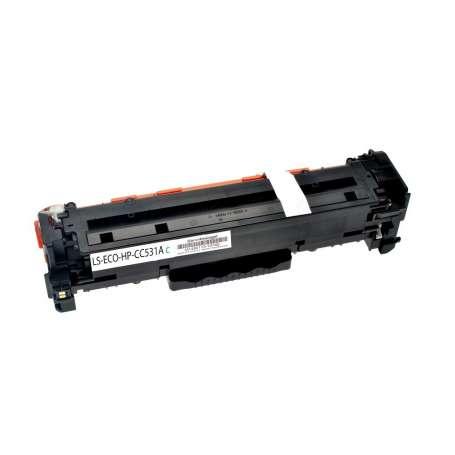 Toner Compatibile HP CC531A Ciano