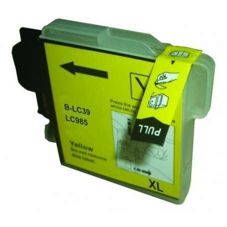 Cartuccia Compatibile Brother LC985 Giallo